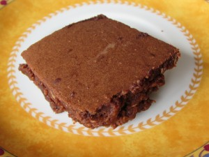 Brownie de chocolate e nozes  light
